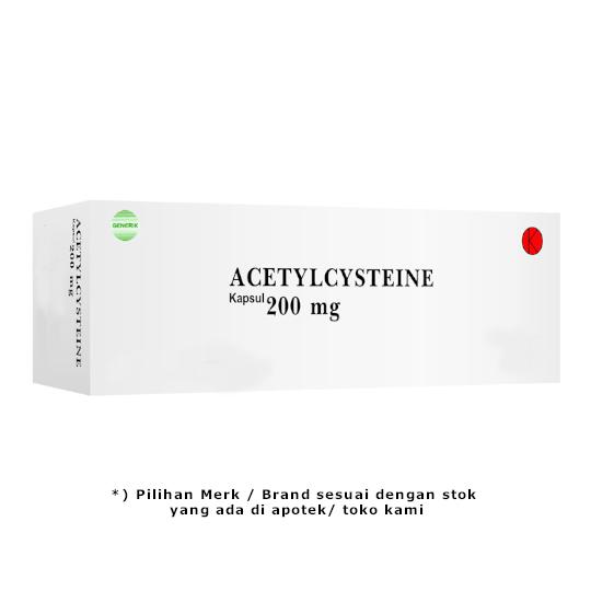 Acetylcysteine 200 mg 10 Kapsul