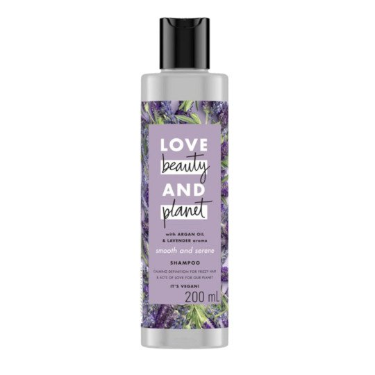 LOVE BEAUTY PLANET SMOOTH AND SERENE SHAMPOO 200 ML