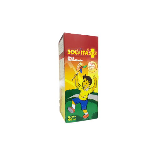 SOLVITA PLUS SIRUP 60 ML
