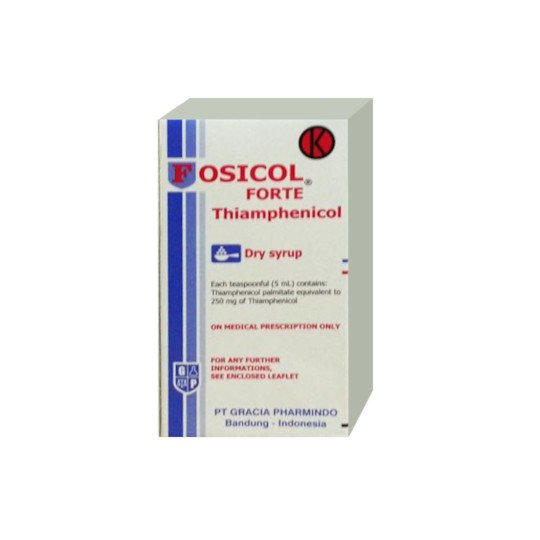 FOSICOL 250 MG/5 ML SIRUP 60 ML