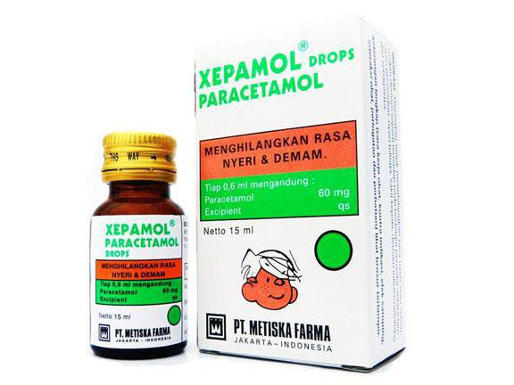 XEPAMOL DROPS 15 ML