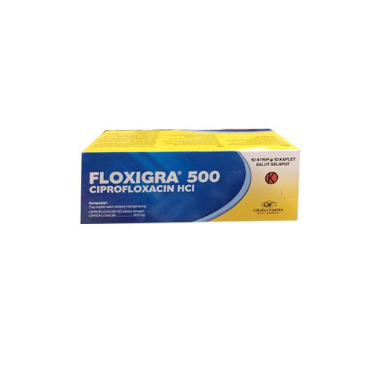 FLOXIGRA 500 MG 10 KAPLET