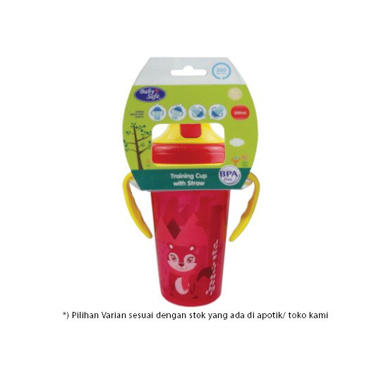 Baby Safe Cup with Weighted Straw 300 ml Jp020