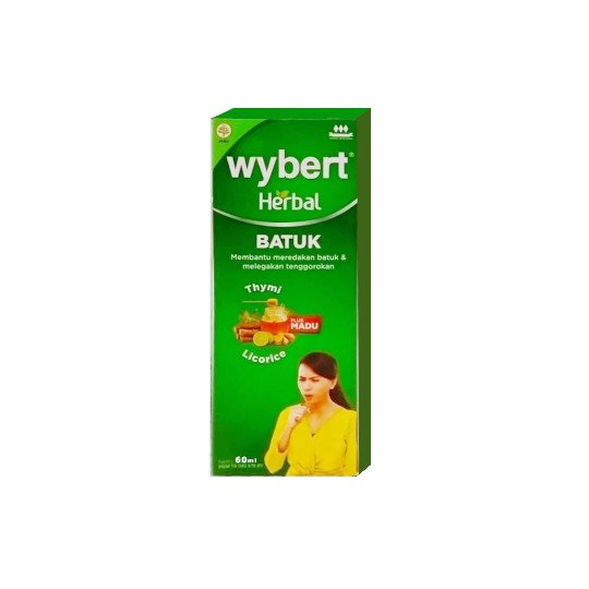 WYBERT HERBAL BATUK SIRUP 60 ML
