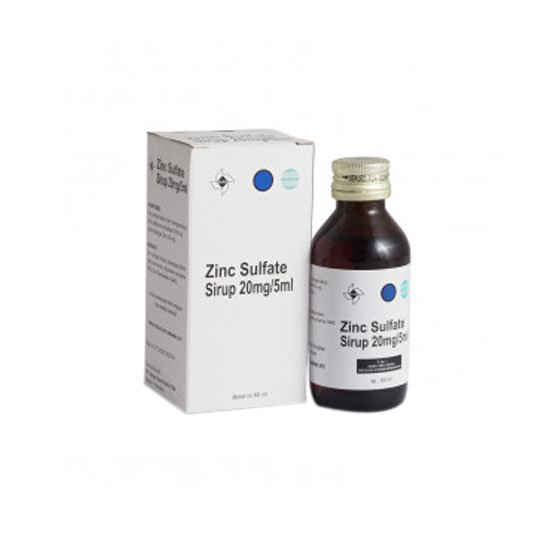 ZINC SULFATE 20MG/5ML SIRUP 60 ML