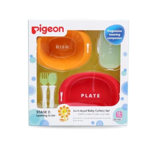 Pigeon Baby Cutlery Set