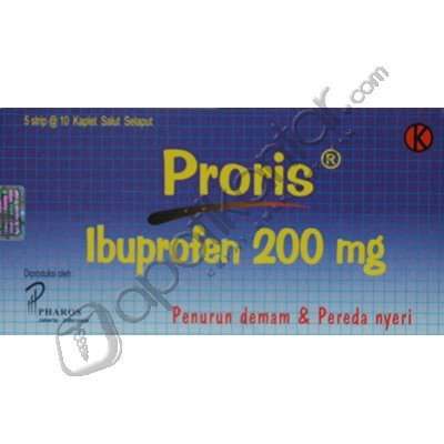 PRORIS 200 MG 10 KAPLET