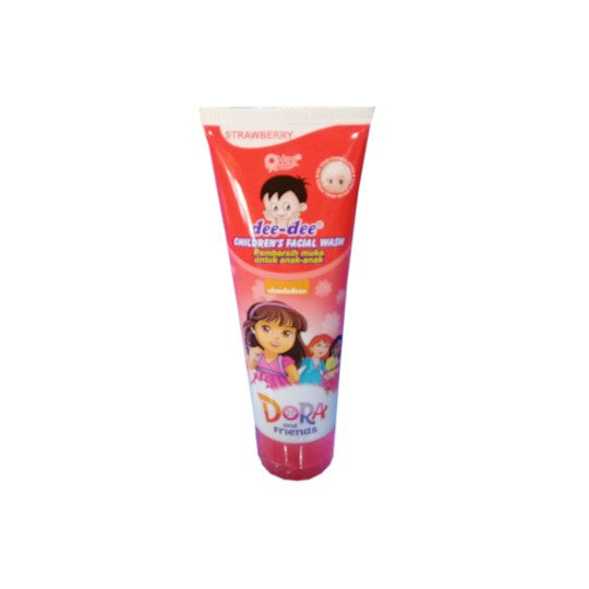 DEE DEE CHILDRENS FACIAL WASH STRAWBERRY 100 G