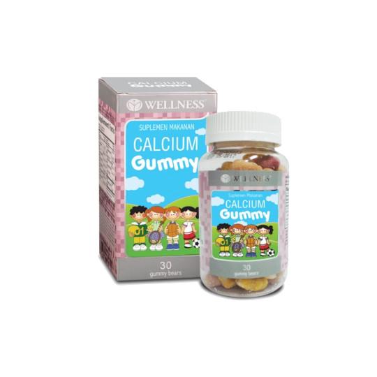 Wellness Calcium Gummy Chewable 30 Tablet