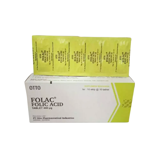 FOLAC 400 MCG 100 TABLET - SEHAT HEMAT
