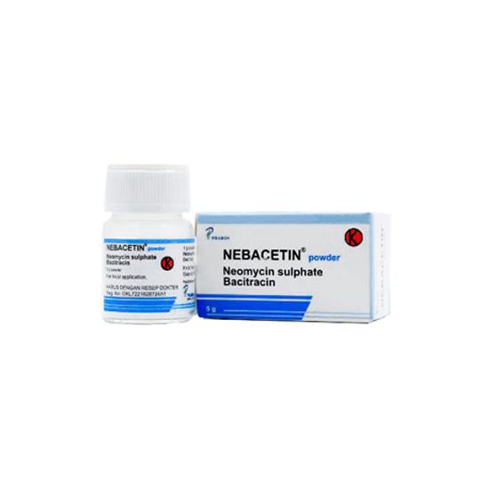 NEBACETIN POWDER 5 G