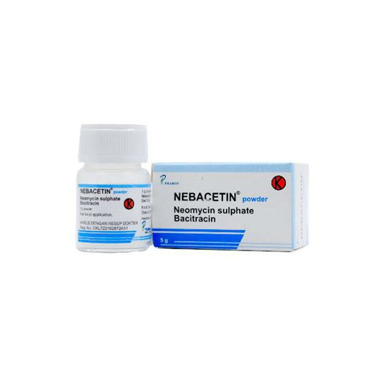NEBACETIN POWDER 5 G