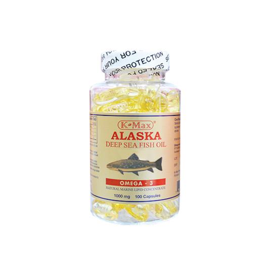K-MAX ALASKA FISH OIL1000 MG 100 KAPSUL