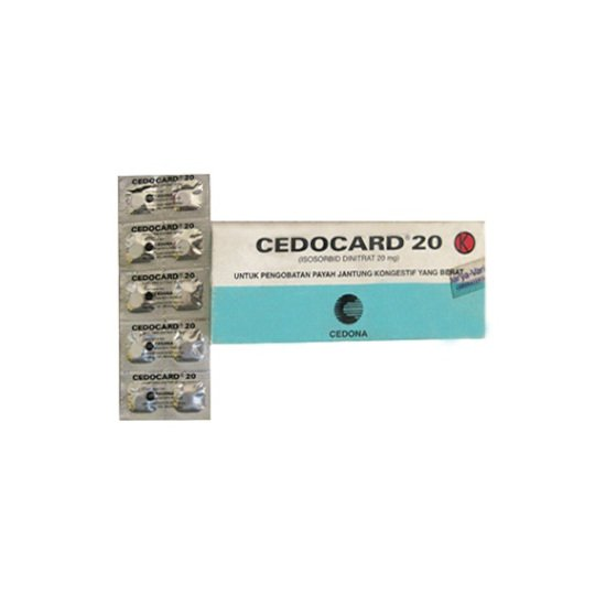 CEDOCARD 20 MG 10 TABLET