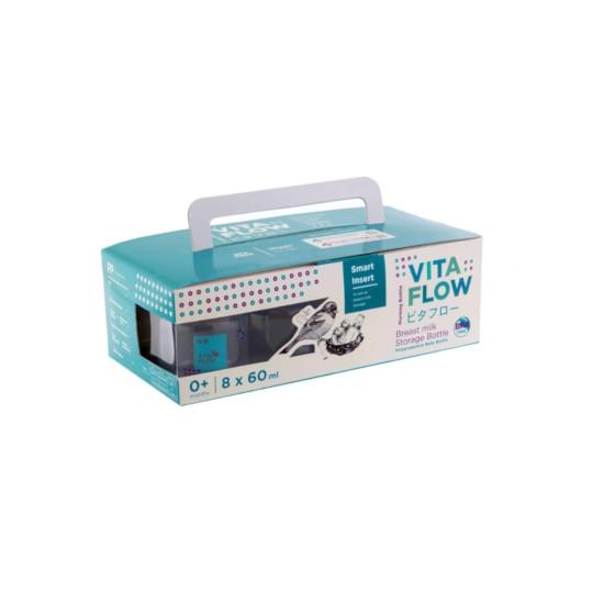 Vita Flow Botol Susu Bayi 60 ml 8 Pieces