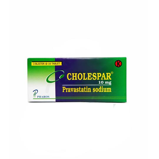 CHOLESPAR 10 MG 10 TABLET