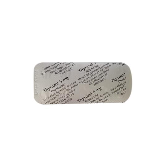 THYROZOL 5 MG 10 TABLET