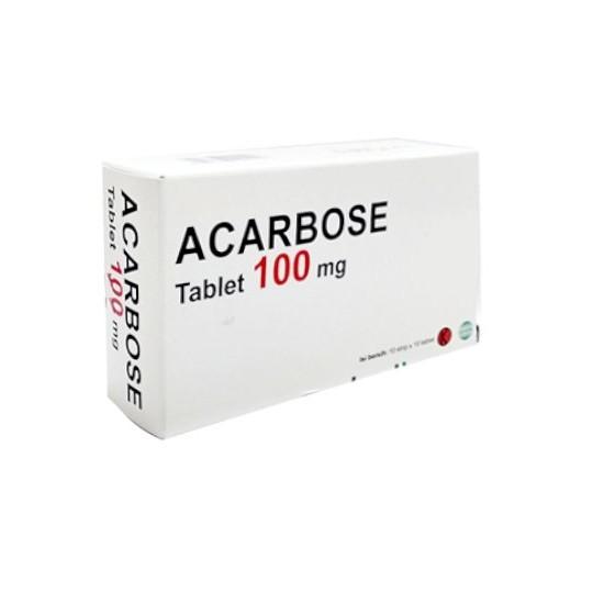 ACARBOSE 100 MG 30 TABLET - OBAT RUTIN
