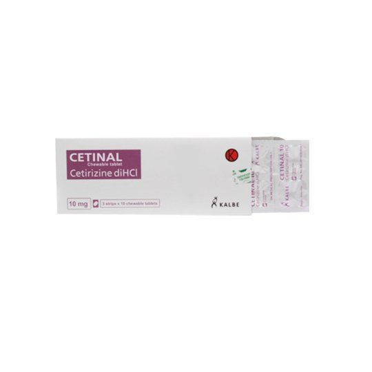 CETINAL 10 MG 10 TABLET