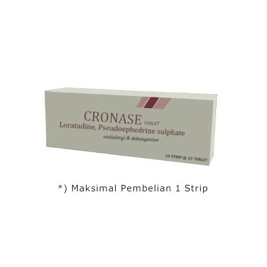 Cronase 10 Tablet