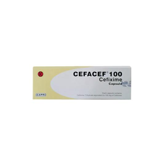 CEFACEF 100 MG 10 KAPSUL