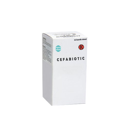 CEFABIOTIC SIRUP 60 ML