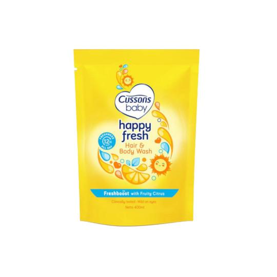 Cussons Baby Hair & Body Wash Happy Fresh 400 ml