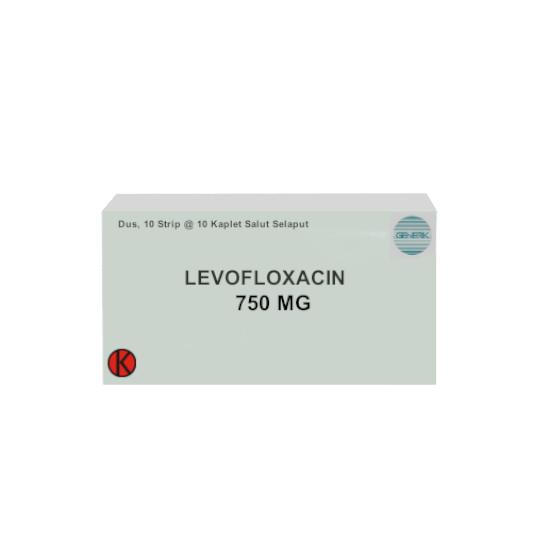 LEVOFLOXACIN 750 MG 10 TABLET