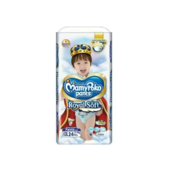 Mamy Poko Pants Royal Soft Boys XXL 24 Pieces