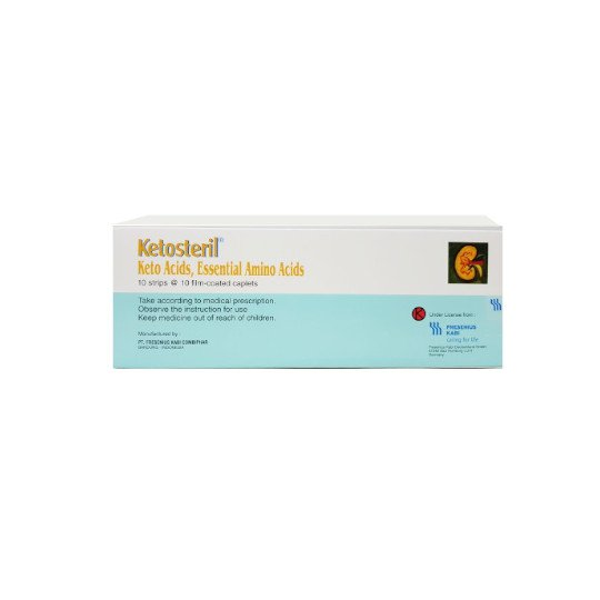 KETOSTERIL TABLET 630 MG 10 TABLET
