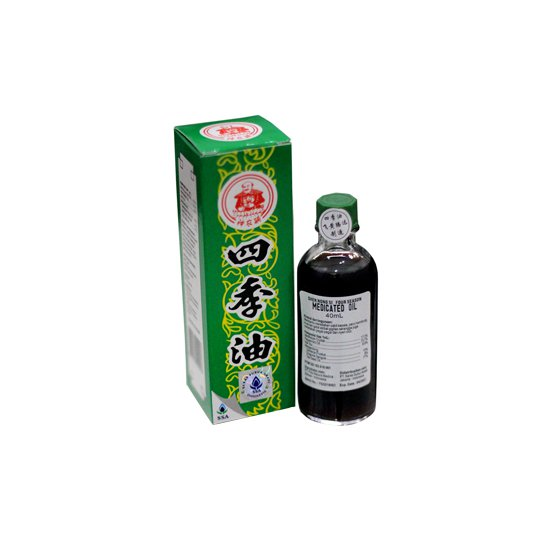 SHEN NONG SI FOUR SEASON MEDICATED OIL 40 ML