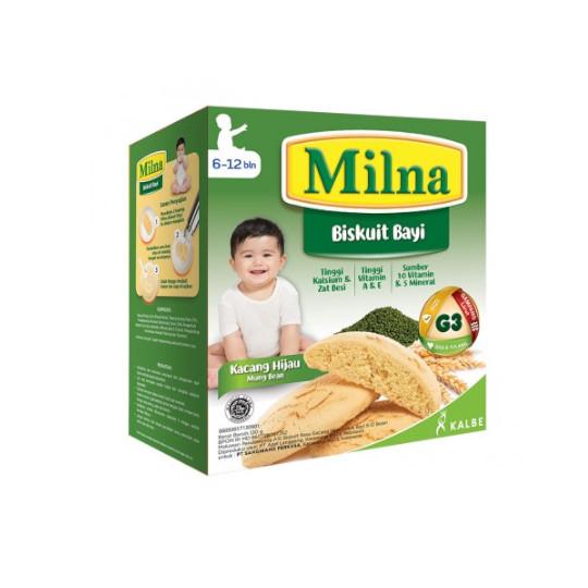 Milna 6-12 Biskuit Bayi Kacang Hijau 130 g