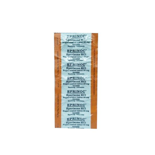 EPRINOC 50 MG 10 TABLET