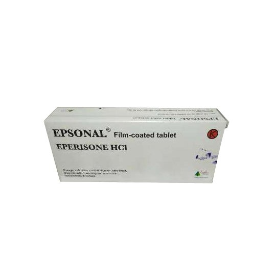 EPSONAL 50 MG 10 TABLET