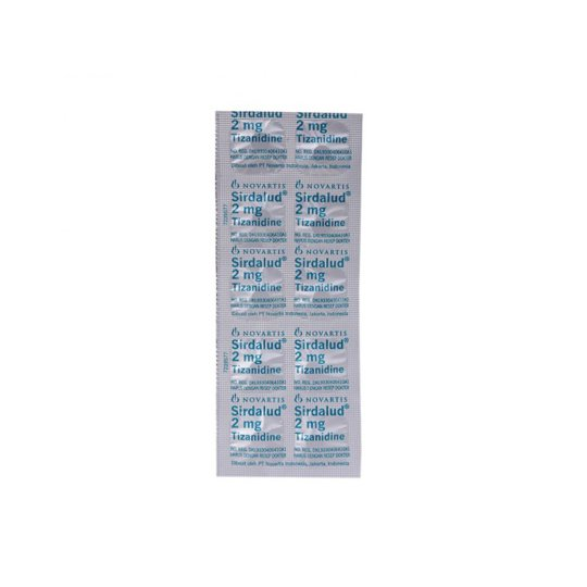 SIRDALUD 2 MG 10 TABLET