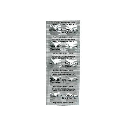 ZITANID 2 MG 10 TABLET