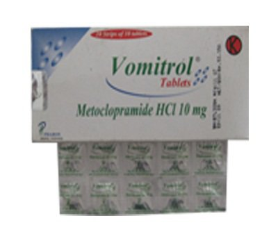 VOMITROL 10 MG 10 TABLET