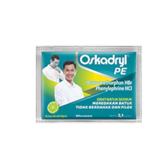 OSKADRYL PE EFFERVESCENT 3.1 G