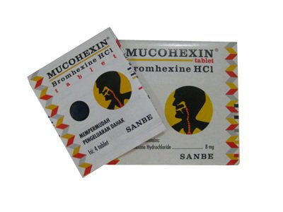 MUCOHEXIN 8 MG 4 TABLET