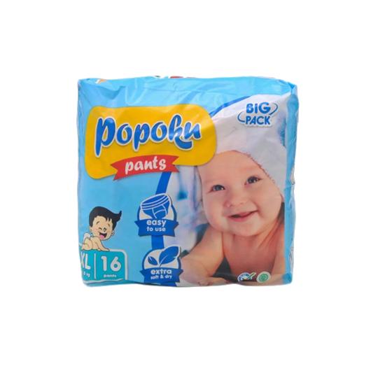 Popoku Pants XL 16 Pieces