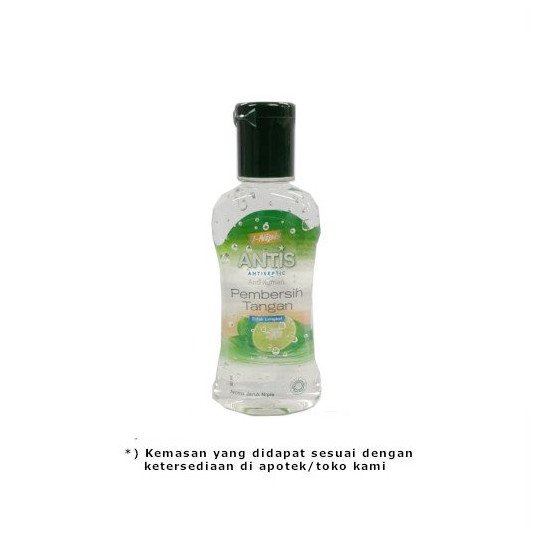 ANTIS HAND SANITIZER GEL 60 ML