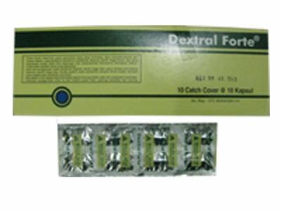 DEXTRAL FORTE 10 KAPSUL