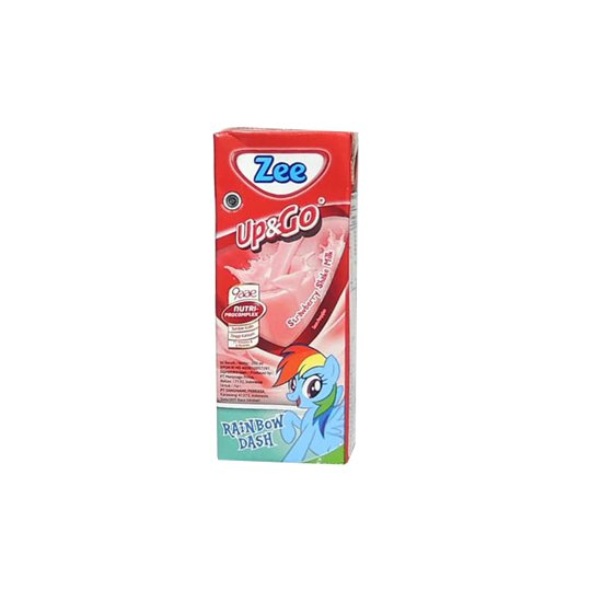 ZEE UHT SWIZZ STRAWBERRY MILK 200 ML