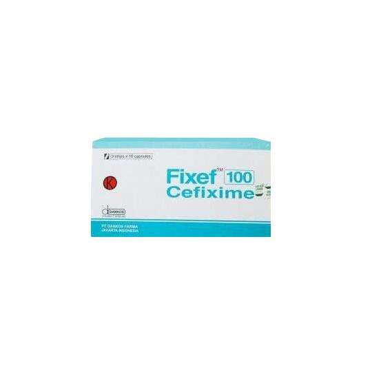 FIXEF 100 MG 10 KAPSUL