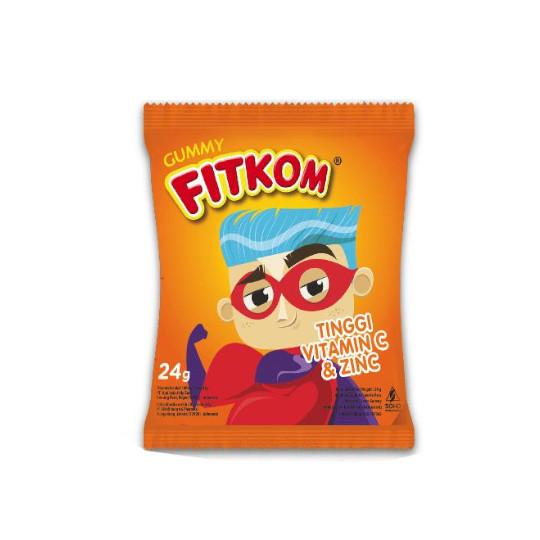 FITKOM GUMMY VITAMIN C & ZINC SACHET