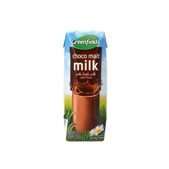 GREENFIELDS CHOCO MALT MILK 200 ML
