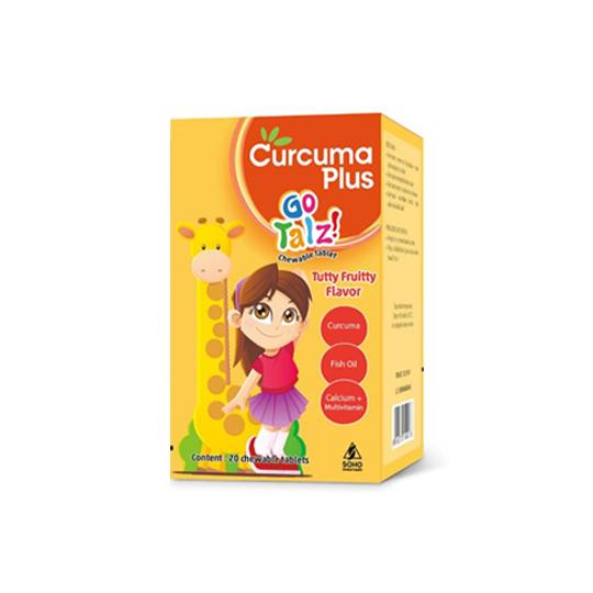 Curcuma Plus Go Talz Rasa Tutty Fruitty 20 Tablet