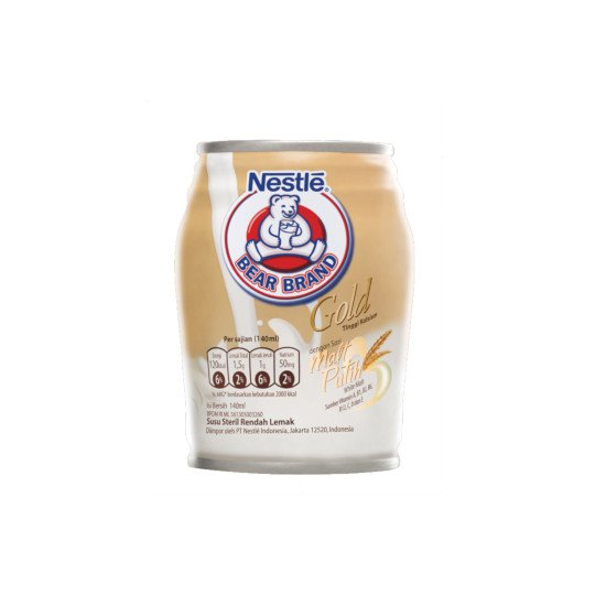BEAR BRAND GOLD WHITE MALT 140 ML