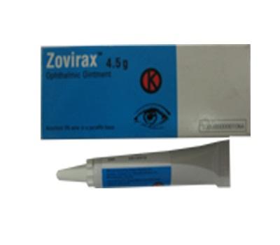 ZOVIRAX 3% SALEP MATA 4.5 G