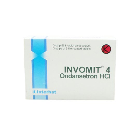 INVOMIT TABLET 4 MG
